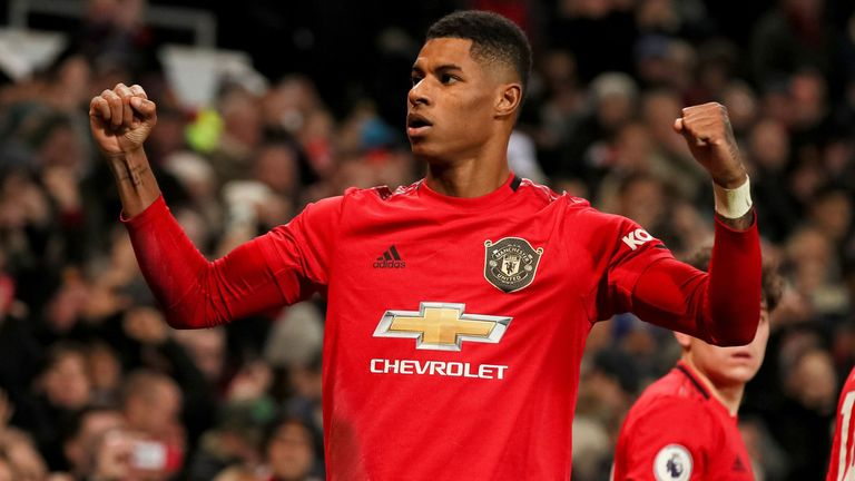 Marcus Rashford says he is recovering well after his back injury - and talks about his work with FareShare to help provide children with food while schools are closed