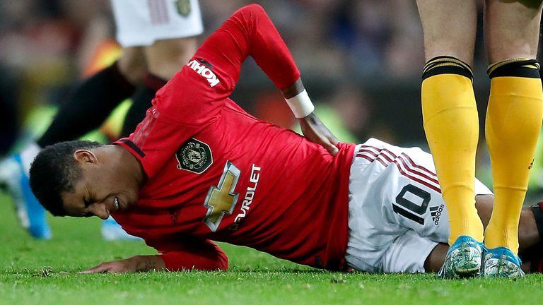 'Touch and go' whether Marcus Rashford will play again this season
