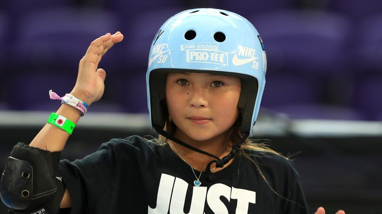 Sky Brown hopes to inspire other youngsters through skateboarding