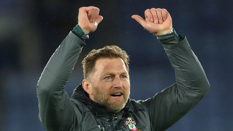 Southampton boss Ralph Hasenhuttl is delighted with Southampton's win over Leicester City