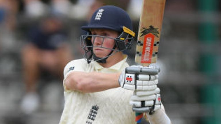 Zak Crawley, England, Test vs South Africa at the Wanderers, Johannesburg