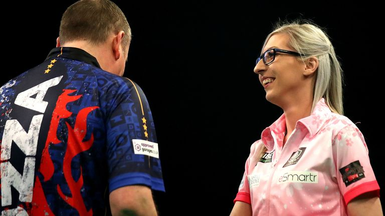 Wayne Mardle and Laura Turner were both impressed with Fallon Sherrock's Premier League appearance after she drew 6-6 with Glen Durrant in Nottingham