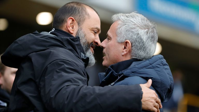 Tottenham boss Jose Mourinho says Wolves and Sheff Utd deserve to be taken seriously as contenders to finish in the Premier League top four this season