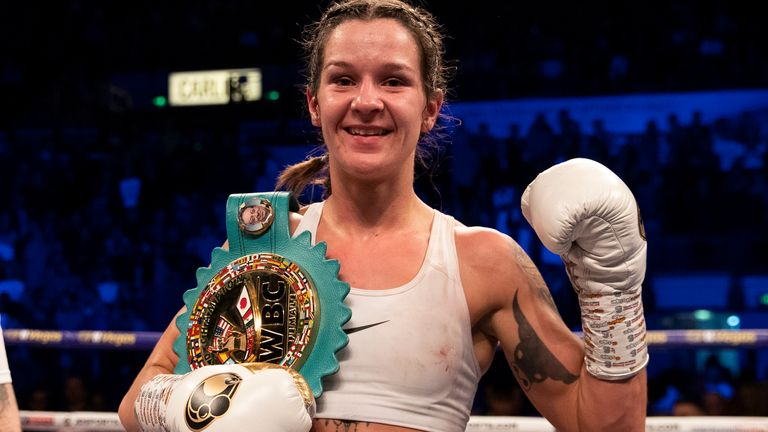 Terri Harper is the new WBC super-featherweight champion