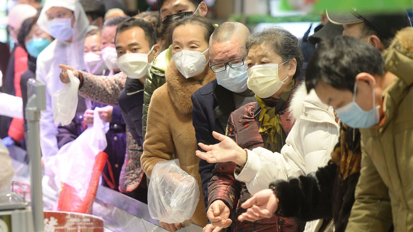 Coronavirus: Number of European cases kept low because of China's 'sacrifice', minister says
