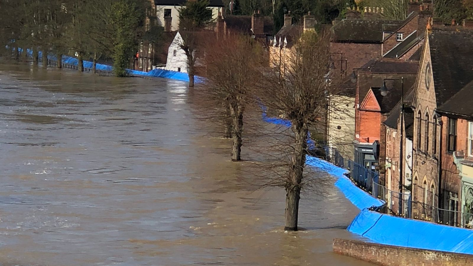 'Immediate evacuation' ordered in town as flood barriers 'overwhelmed'