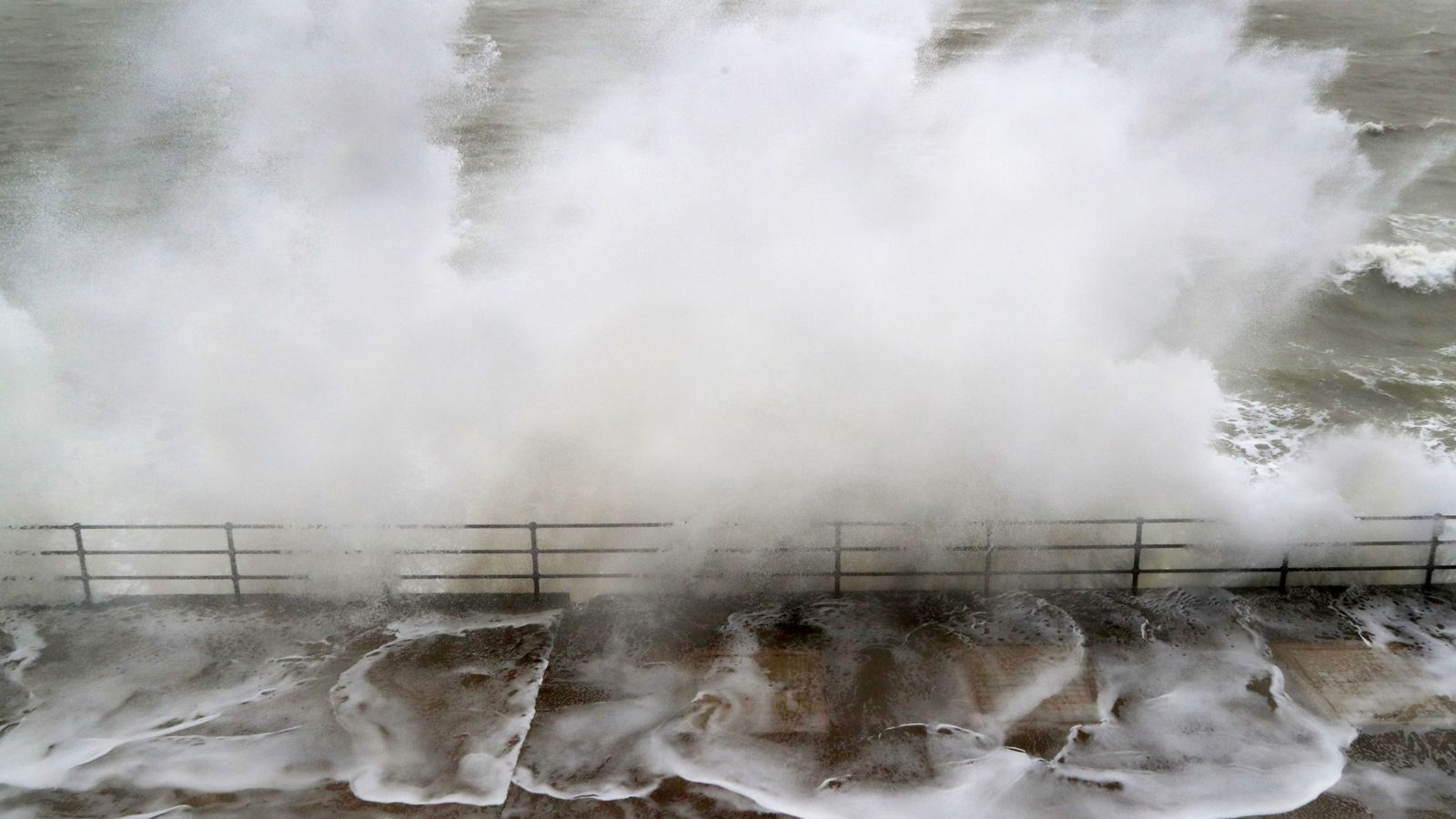 Storm Jorge hits UK with another deluge of rain and 60mph winds