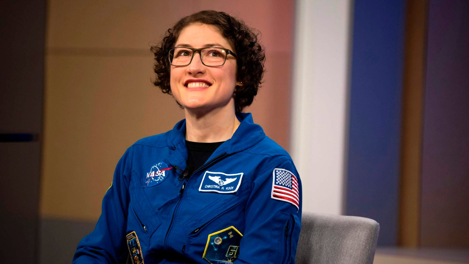 Record-breaking NASA astronaut Christina Koch 'felt like a baby' after 11 months...
