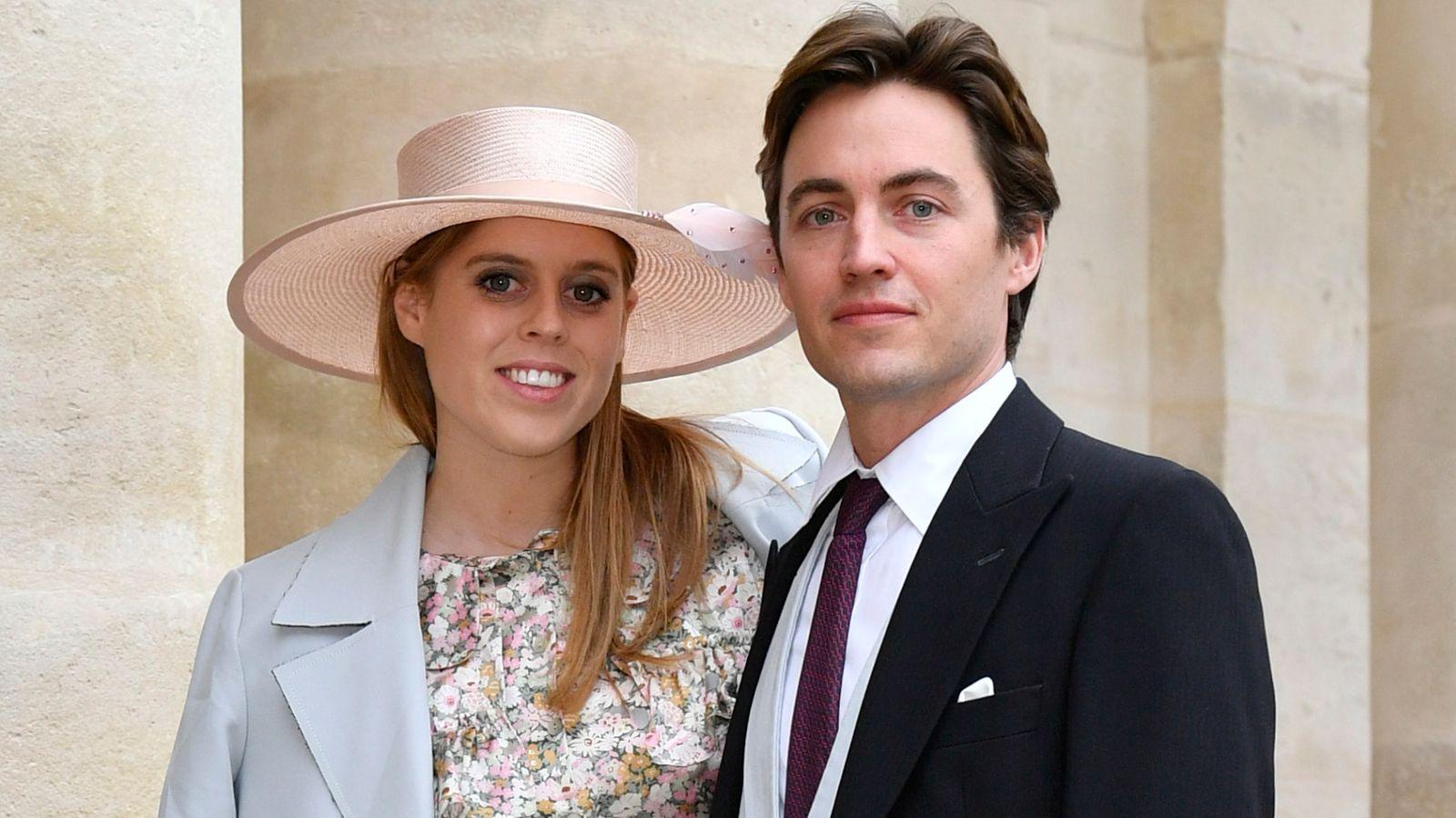 Coronavirus: Princess Beatrice cancels Buckingham Palace wedding ...