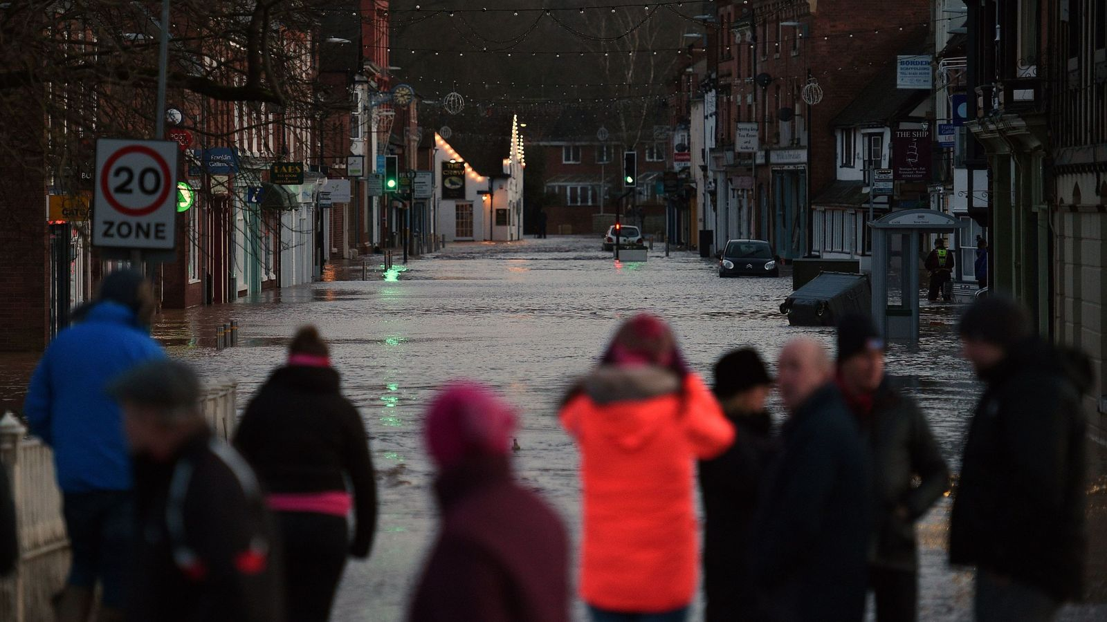 UK weather: Man dies as storm-hit areas warned flooding could last for days