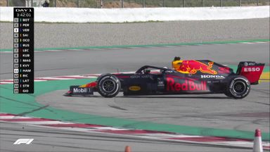 Verstappen goes for a spin!