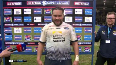 Hurrell celebrates Leeds win!
