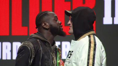Fury and Wilder face-off gets tasty