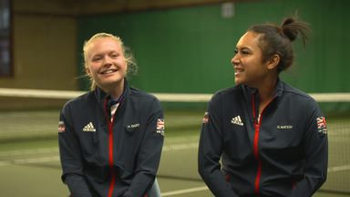 Watson, Dart lift lid on Fed Cup team-mates