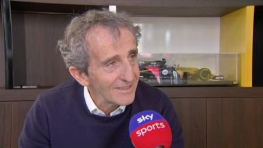 Prost discusses Ricciardo's Renault future
