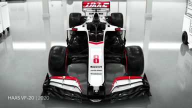 Revealed: The 2020 Haas car