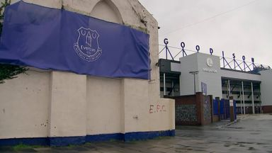 Goodison Park hit by storm