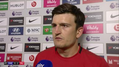 Maguire: It wasn't a kick out
