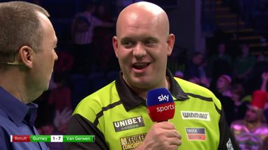 MVG: I didn't make any mistakes