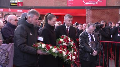 United pay tribute to Munich Air Disaster victims