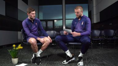 Spurs duo's language challenge!