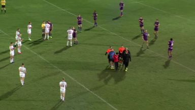 Gavet stretchered off at Craven Park