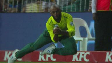 Stunning catch from Bavuma