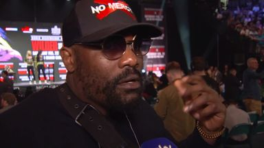Chisora warns Fury about Wilder power