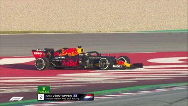 Verstappen stoppage ends session