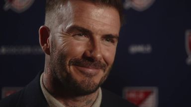 Beckham: Ole's doing a good job