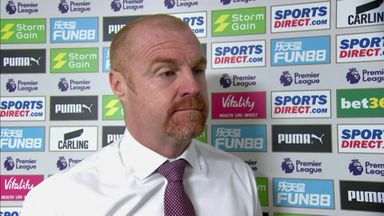 Dyche pleased with clean sheet
