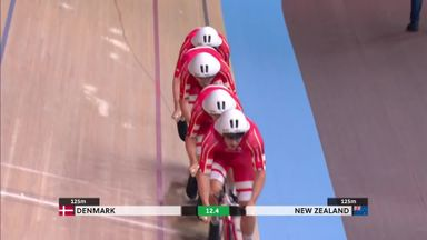 Denmark smash team pursuit world record