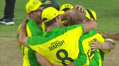Agar makes stunning hat-tick in Aus win