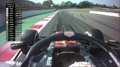 Ride on board with Verstappen