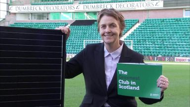 Hibs pledge to be 'greenest club in Scotland'