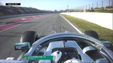 Hamilton's start analysed