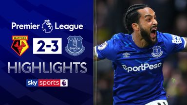 Ten-man Everton fight back to win