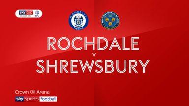 Rochdale 1-0 Shrewsbury