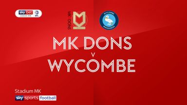 MK Dons 2-0 Wycombe
