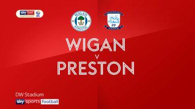Wigan 1-2 Preston