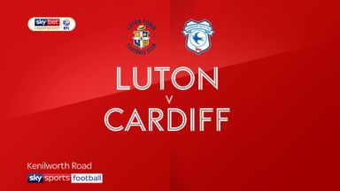 Luton 0-1 Cardiff