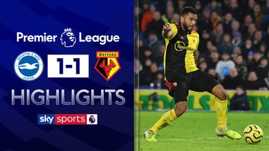 Late own goal hands Brighton draw