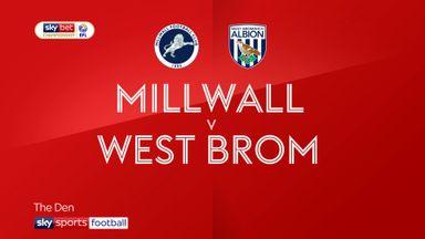 Millwall 0-2 West Brom