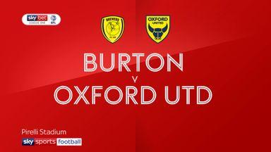 Burton 2-2 Oxford