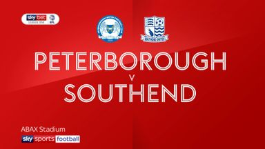 Peterborough 4-0 Southend