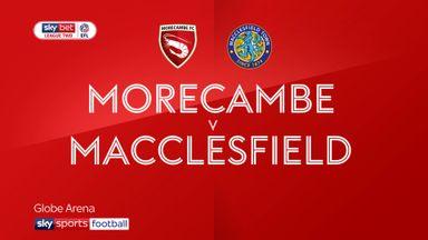 Morecambe 2-0 Macclesfield