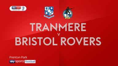 Tranmere 0-0 Bristol Rovers