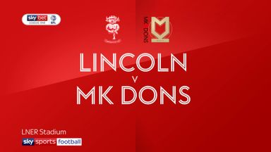 Lincoln 1-1 MK Dons