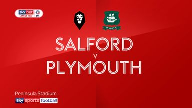 Salford 2-3 Plymouth