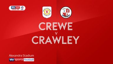Crewe 2-1 Crawley